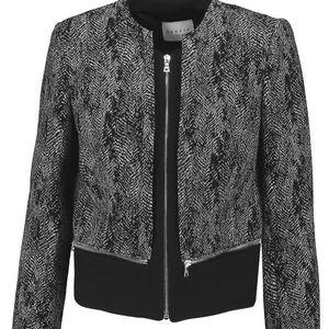 NWT Sandro Paris Vivienne Tweed Jacket Size 40 8
